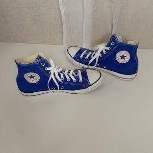 "Converse "" Chuck Taylor"" Royal Blue High Tops"